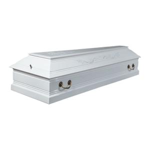 Гроб лакированный «Лоза» 4-гранный