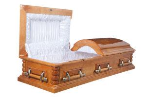 Двухкрышечные гробы