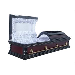 Гроб лакированный «Вегас» 2-крышечный