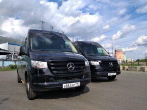 Ритуальный автобус Mercedes Sprinter Lux