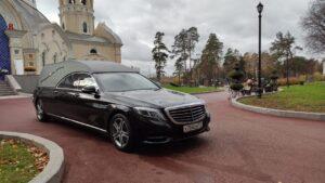 Катафальный лимузин Mercedes S