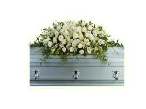 Композиции на гроб из живых цветов