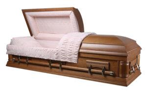 """Гроб полированный """"Lincoln"""""""
