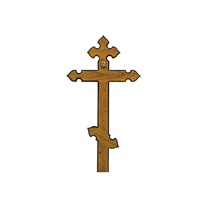 Крест дубовый «Купол»