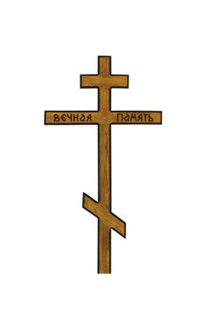 """Крест """"Классический"""" дуб"""