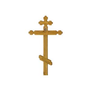 Крест дубовый «Резной»