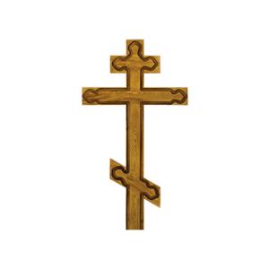 Крест дубовый «Византийский»