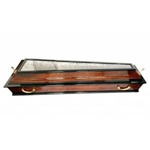 Гроб ФС-4 со стеклянной крышкой