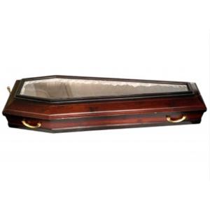 Гроб  ФС-6 со стеклянной крышкой Covid