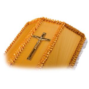 Крест на гроб «бронза»