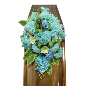 Траурная композиция на гроб «Авторская» №1