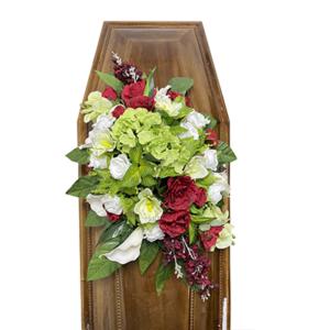 Траурная композиция на гроб «Авторская» №2