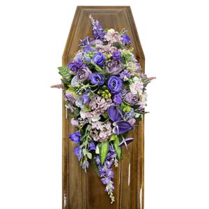 Траурная композиция на гроб «Авторская» №3