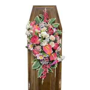 Траурная композиция на гроб «Авторская» №5