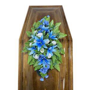 Траурная композиция на гроб «Cтандартная» №2