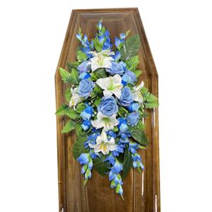 Траурная композиция на гроб «Заказная» №4