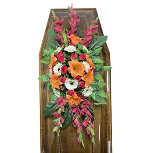 Траурная композиция на гроб «Заказная» №5