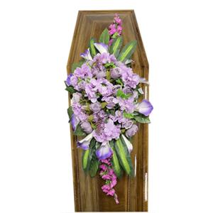 Траурная композиция на гроб «Элитная» №1