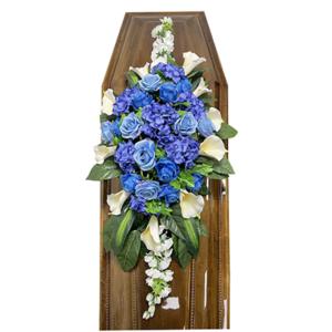 Траурная композиция на гроб «Элитная» №2
