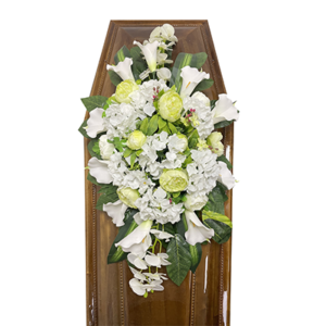 Траурная композиция на гроб «Элитная» №3