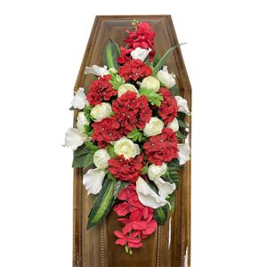 Траурная композиция на гроб «Элитная» №4