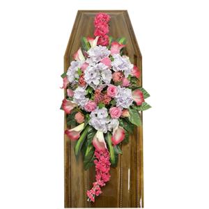 Траурная композиция на гроб «Элитная» №5