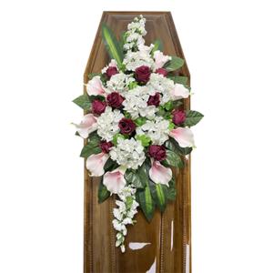 Траурная композиция на гроб «Элитная» №6